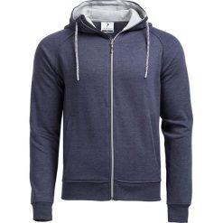 Bluza męska BLM601 - GRANATOWY MELANŻ - Outhorn. Niebieskie bluzy męskie rozpinane Outhorn, na jesień, m, melanż, z materiału. W wyprzedaży za 62,99 zł.