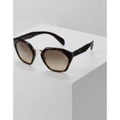 Prada Okulary przeciwsłoneczne havana. Brązowe okulary przeciwsłoneczne damskie aviatory Prada. Za 989,00 zł.
