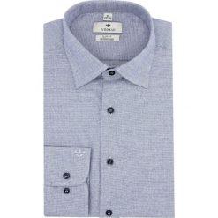 Koszula winberg 2484 długi rękaw slim fit niebieski. Niebieskie koszule męskie slim Recman, m, z długim rękawem. Za 169,00 zł.