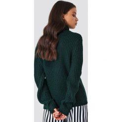 Swetry damskie: Rut&Circle Dzianinowy golf Tinelle - Green