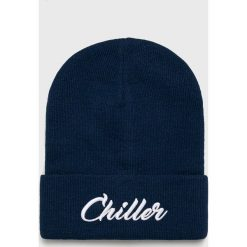 True Spin - Czapka. Niebieskie czapki zimowe męskie True Spin, z dzianiny. W wyprzedaży za 49,90 zł.