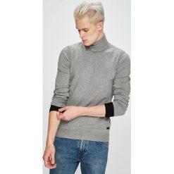 Trussardi Jeans - Sweter. Szare golfy męskie Trussardi Jeans, l, z dzianiny. Za 379,90 zł.