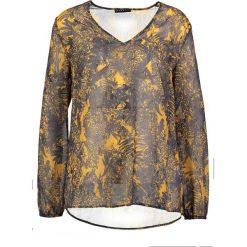 Bluzki asymetryczne: Sisley Bluzka navy/marigold