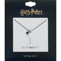 Naszyjniki damskie: Harry Potter Slytherin Naszyjnik srebrny