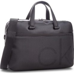 Torba na laptopa CALVIN KLEIN - Ck Point Laptop Bag K50K503876  001. Czarne torby na laptopa Calvin Klein, z materiału. Za 749,00 zł.