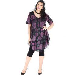 Sukienki balowe: Sukienka w kolorze czarno-jasnoróżowo-szarym