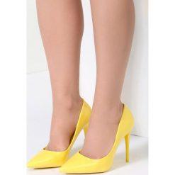 Szpilki: Żółte Szpilki Grapevine