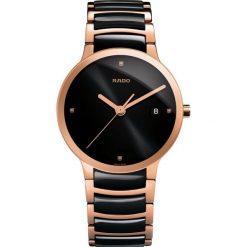 ZEGAREK RADO CENTRIX. Czarne zegarki damskie RADO, ceramiczne. Za 6850,00 zł.