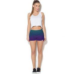 Colour Pleasure Spodnie damskie CP-020 291 niebiesko-fioletowe r. 3XL/4XL. Fioletowe spodnie sportowe damskie marki Colour pleasure, uniwersalny. Za 72,34 zł.