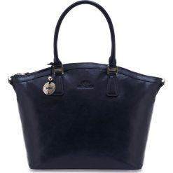 Torebka damska 35-4-011-7. Niebieskie torebki klasyczne damskie marki Wittchen, w paski. Za 1199,00 zł.