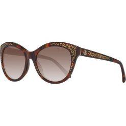 Okulary przeciwsłoneczne damskie: Okulary przeciwsłoneczne w kolorze brązowo-złotym