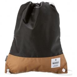 Nugget Unisex Plecak Czarny Latte 3. Czarne plecaki damskie Nugget. Za 50,00 zł.