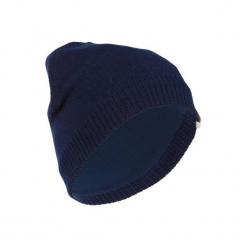 Czapka narciarska PURE. Niebieskie czapki damskie marki WED'ZE, z elastanu. Za 29,99 zł.