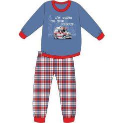 Bielizna chłopięca: Piżama Kids Boy 593/76 Ambulance niebieska r. 92