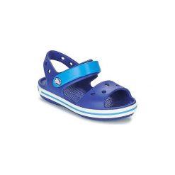 Sandały Dziecko  Crocs  CROCBAND SANDAL KIDS. Niebieskie sandały chłopięce Crocs. Za 116,10 zł.