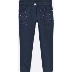 Blukids - Spodnie dziecięce 98-128 cm. Szare rurki dziewczęce marki Blukids, z bawełny. W wyprzedaży za 69,90 zł.