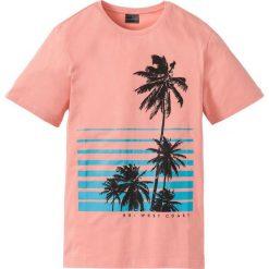 T-shirty męskie: T-shirt Slim Fit bonprix jasny koralowy