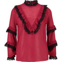 Bluzki asymetryczne: Navy London AUDREY Bluzka red