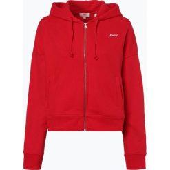 Levi's - Damska bluza rozpinana, czerwony. Czerwone bluzy rozpinane damskie Levi's®, m, z kapturem. Za 279,95 zł.