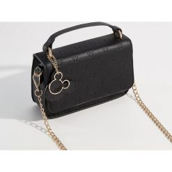 Torebka z odpinanym paskiem Mickey Mouse Special Collection - Czarny. Czarne torebki klasyczne damskie Mohito, z motywem z bajki. Za 99,99 zł.