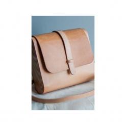 Torebka z drewnem R3 blankowa. Brązowe torebki klasyczne damskie Republic, w paski, z lakierowanej skóry, duże. Za 390,00 zł.