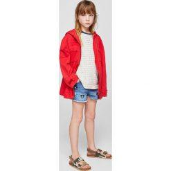 Mango Kids - Szorty dziecięce Lisam 116-164 cm. Czarne szorty damskie z printem marki bonprix. W wyprzedaży za 49,90 zł.