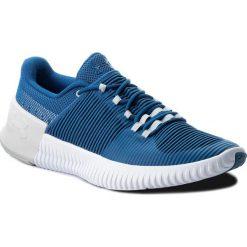 Buty UNDER ARMOUR - Ua Ultimate Speed 3000329-400 Blu. Niebieskie buty fitness męskie Under Armour, z materiału. W wyprzedaży za 219,00 zł.