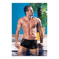 Kąpielówki Imago Black Czarno-żółte. Szare kąpielówki męskie marki Henderson. Za 85,90 zł.