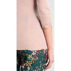 Bluzki asymetryczne: Rosemunde Bluzka z długim rękawem vintage powder