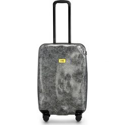 Walizka Surface średnia White Fur. Szare walizki marki Crash Baggage, z materiału. Za 1183,00 zł.