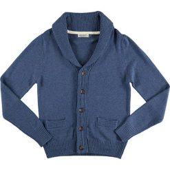 Swetry rozpinane męskie: Kardigan w kolorze niebieskim