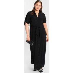 Długie sukienki: Evans PLAIN SHIRT DRESS Długa sukienka black