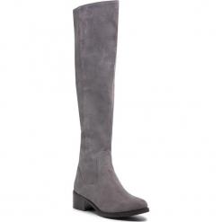 Muszkieterki SERGIO BARDI - Bellinzago FW127363118GM 809. Szare buty zimowe damskie Sergio Bardi, ze skóry ekologicznej, na obcasie. W wyprzedaży za 299,00 zł.