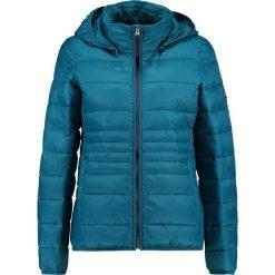 Abercrombie & Fitch PUFFER Kurtka przejściowa blue. Niebieskie kurtki damskie Abercrombie & Fitch, xl, z materiału. Za 629,00 zł.