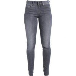 GStar Jeans Skinny Fit render grey ultimate stretch denim. Szare jeansy damskie G-Star, z bawełny. W wyprzedaży za 428,35 zł.