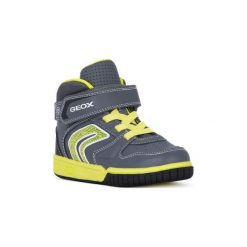 Buty Dziecko Geox  J GREGG G. Szare buty sportowe chłopięce marki Geox. Za 283,84 zł.