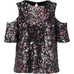 T-shirty damskie: Dorothy Perkins MULTI SEQUIN COLD SHOULDER  Tshirt z nadrukiem multi bright