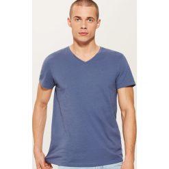 T-shirt basic - Niebieski. Niebieskie t-shirty męskie House, l. Za 25,99 zł.