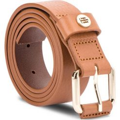 Akcesoria: Pasek Damski TOMMY HILFIGER - Leather Covered Buck AW0AW05889 262