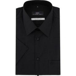 Koszula GILBERTO 15-12-12-K. Brązowe koszule męskie na spinki marki QUECHUA, m, z elastanu, z krótkim rękawem. Za 199,00 zł.