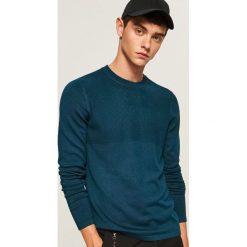 Sweter ze ściągaczową górą - Turkusowy. Niebieskie swetry klasyczne męskie marki Reserved, l. W wyprzedaży za 59,99 zł.