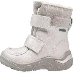 Ecco Śniegowce alusilver/concrete/silver. Szare buty zimowe damskie ecco, z materiału. W wyprzedaży za 351,20 zł.
