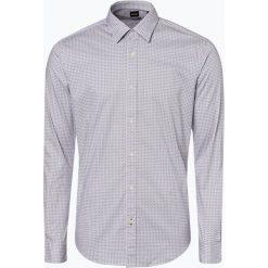 BOSS - Koszula męska – Ronni, niebieski. Czarne koszule męskie na spinki marki Boss, m. Za 479,95 zł.