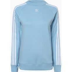 Adidas Originals - Damska bluza nierozpinana, niebieski. Szare bluzy damskie marki adidas Originals, na co dzień, z nadrukiem, z bawełny, casualowe, z okrągłym kołnierzem, proste. Za 269,95 zł.