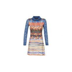 Sukienki hiszpanki: Sukienki krótkie Smash  KRIVAN