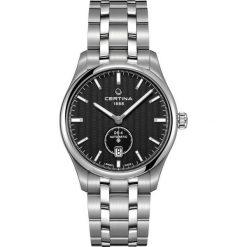 PROMOCJA ZEGAREK CERTINA DS-4 C022.428.11.051.00. Czarne zegarki męskie CERTINA, ze stali. W wyprzedaży za 2807,20 zł.