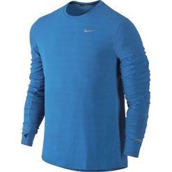 T-shirty męskie: koszulka do biegania męska NIKE DRI-FIT CONTOUR LONGSLEEVE / 683521-435 – NIKE DRI-FIT CONTOUR LONGSLEEVE