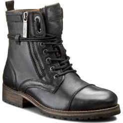 Botki PEPE JEANS - PLS50215 Black 999. Czarne botki damskie na obcasie Pepe Jeans, z jeansu. W wyprzedaży za 359,00 zł.