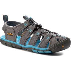 Sandały KEEN - Clearwater Cnx 1008772 Gargoyle/Norse Blue. Szare sandały damskie marki Keen, z materiału. W wyprzedaży za 269,00 zł.