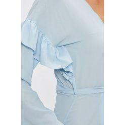 Trendyol - Sukienka. Szare sukienki mini marki Trendyol, na co dzień, z elastanu, casualowe, dopasowane. W wyprzedaży za 89,90 zł.